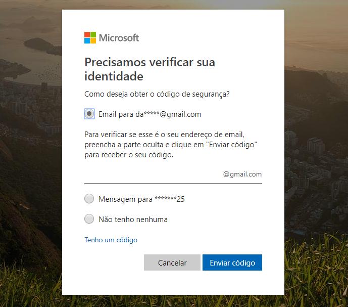 código-de-segurança-msn