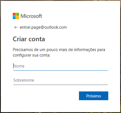 hotmail entrar email