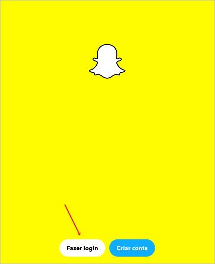 fazer-login-snapchat