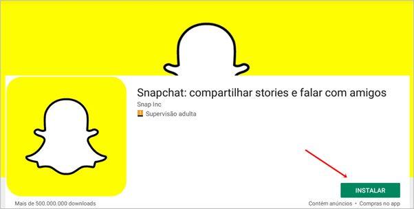 instalar-snapchat