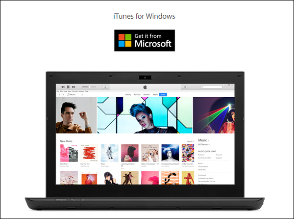 itunes login windows