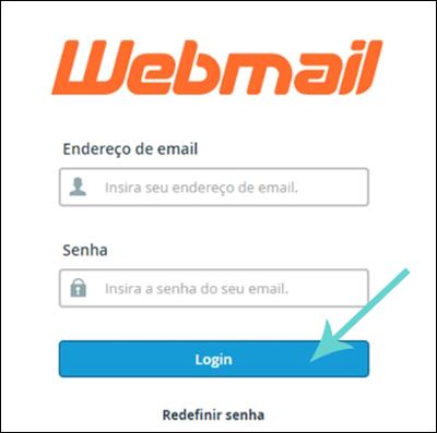 Entrar cpanel webmail