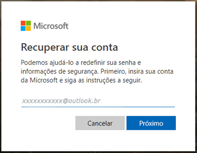 recuperar-senha-do-outlook